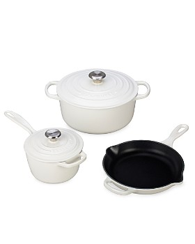 Le Creuset - 5-Piece Cast Iron Cookware Set