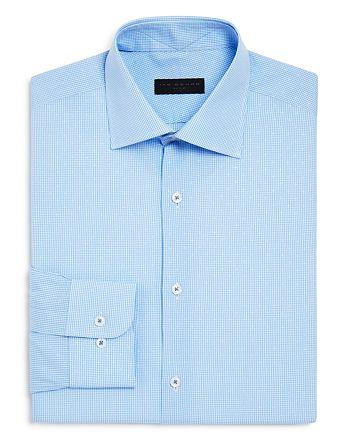 Ike Behar - Multi Check Regular Fit Dress Shirt