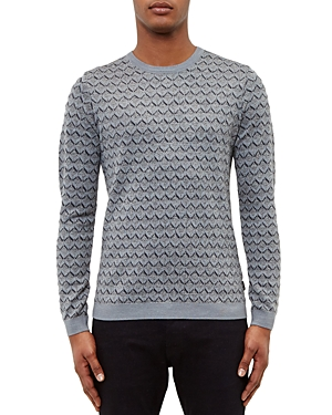 Ted Baker Geo Jacquard Sweater