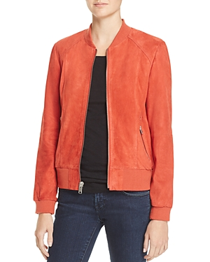 AM82 Leigh Suede Bomber Jacket