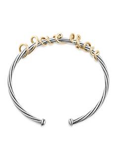 David Yurman - DY Whispers I Love You Cuff Bracelet