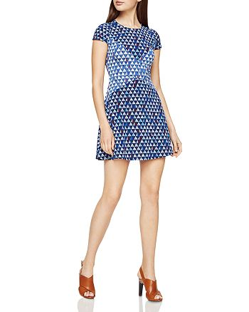 BCBGMAXAZRIA - Geo Print Mini Dress