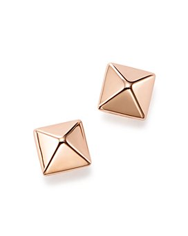 Bloomingdale's - 14K Rose Gold Small Pyramid Post Earrings - 100% Exclusive