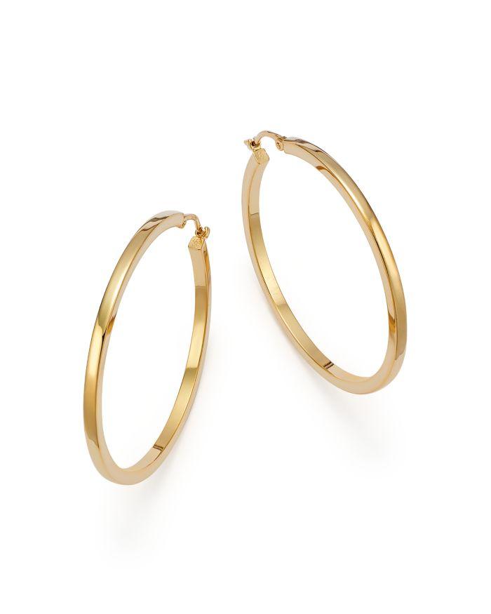 Bloomingdale's 14K Yellow Gold Extra Large Hoop Earrings - 100% Exclusive  | Bloomingdale's