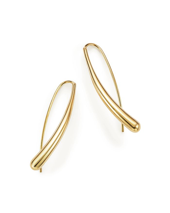 Bloomingdale's - 14K Yellow Gold Long Tear Drop Earrings - 100% Exclusive