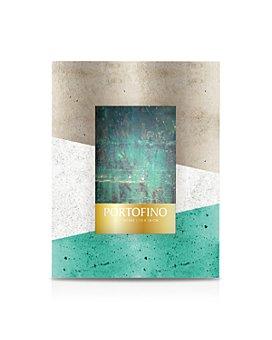 "Argento SC - Green Concrete Block Frame, 5"" x 7"""