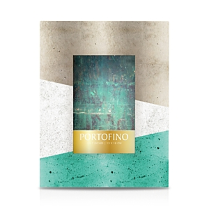 Portofino by Argento Sc Green Concrete Block Frame, 5 x 7