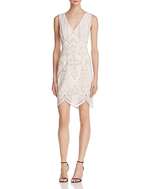 Bardot Embroidered Sheath Dress