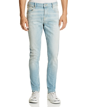Scotch & Soda Skim Straight Fit Jeans in Light Blue