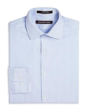 Michael Kors Boys' Dotted Stripe Dress Shirt - Big Kid