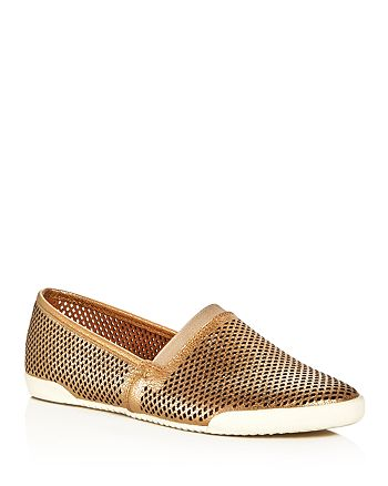 1c413d1683 Frye - Women s Melanie Metallic Perforated Slip-On Sneakers