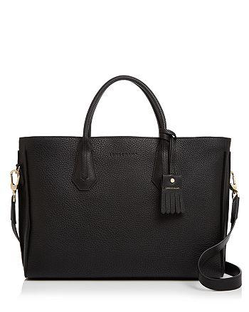 Longchamp - Penelope Leather Briefcase