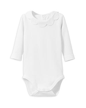 Jacadi Infant Girls' Scalloped Collar Bodysuit - Sizes Newborn-12 Months
