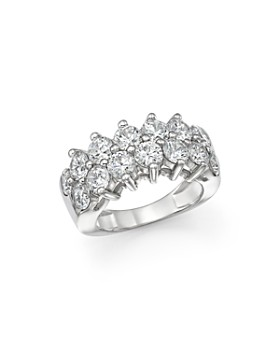 Bloomingdale's - Certified Diamond Band in 18K White Gold, 4.0 ct. t.w. - 100% Exclusive