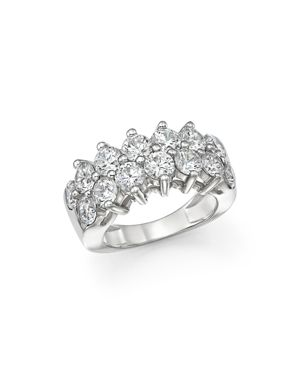 Certified Diamond Band in 18K White Gold, 4.0 ct. t.w. - 100% Exclusive