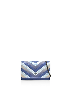 Botkier Soho Color Block Leather Chain Wallet