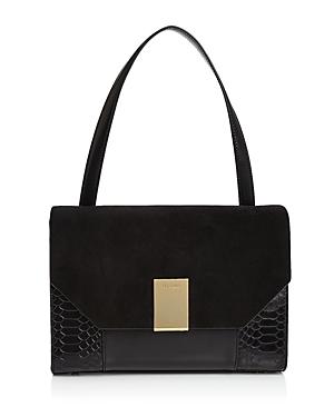 Ted Baker Margo Embossed Leather Shoulder Bag