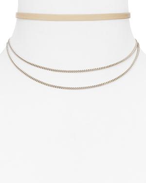Jennifer Zeuner Ivy Gemi Choker Necklace, 11