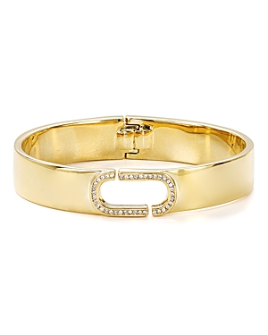 Marc Jacobs Icon Crystal Hinge Cuff