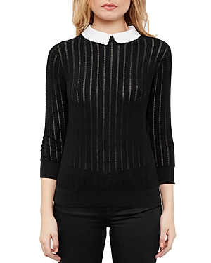 Ted Baker Scalloped-Collar Sweater