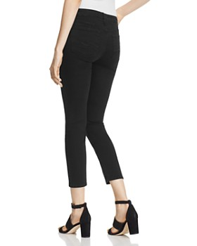 7 For All Mankind - b(air) Kimmie Crop Jeans in Black