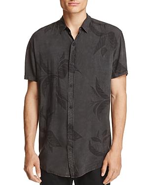 nANA jUDY Leaf Print Regular Fit Button-Down Shirt