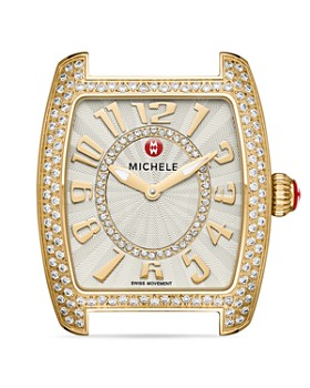 MICHELE - Urban Mini Diamond Watch Head, 29mm x 30mm