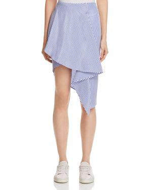Joa Asymmetric Stripe Skirt - 100% Exclusive