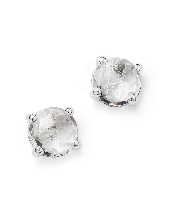 b042bc249 IPPOLITA Rock Candy® Sterling Silver Mini Stud Earrings with Clear ...