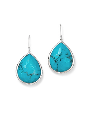 Click here for Ippolita Large Single Teardrop Earring in Turquois... prices