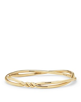David Yurman - Continuance Center Twist Bracelet in 18K Gold