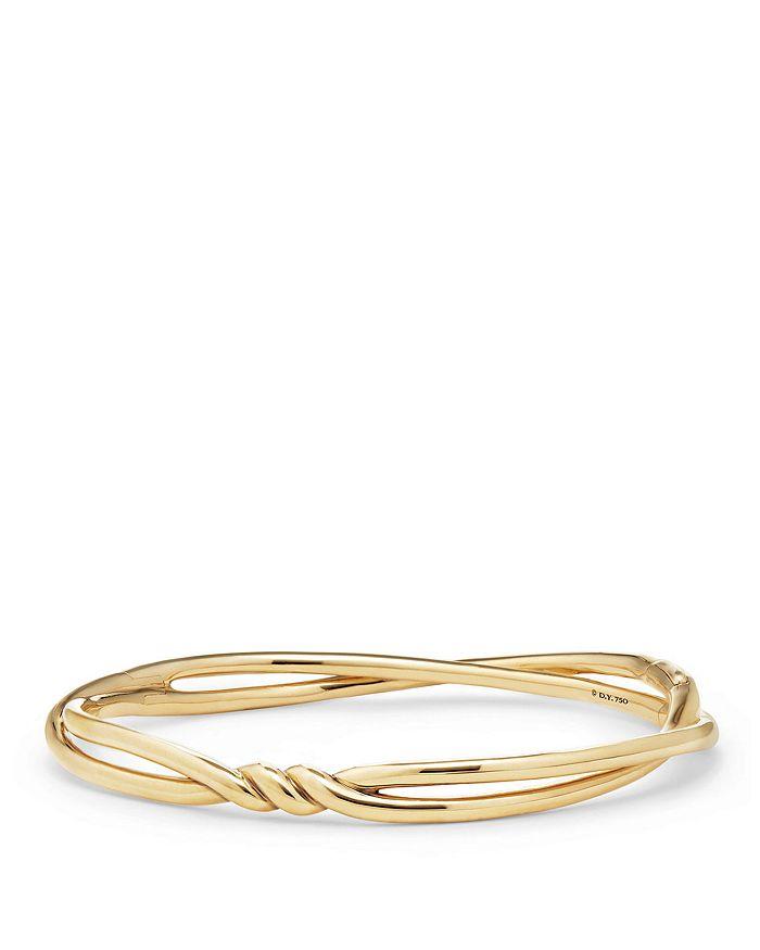 David Yurman - Continuance Center Twist Bracelets in 18K Gold