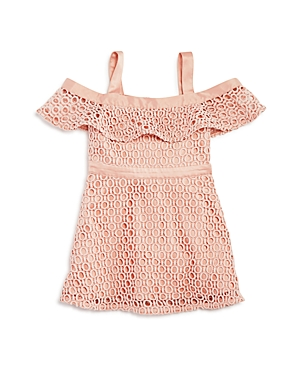 Bardot Junior Infant Girls' Lace Mesh Ruffle Dress - Sizes 9-24 Months, 100% Exclusive