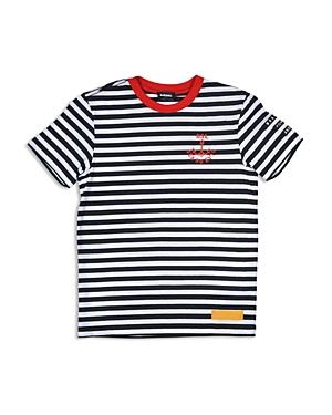 Diesel Boys Nautical Stripe Tee  Big Kid