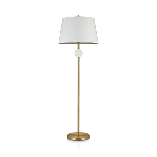 cupcakes and cashmere - Stack Glass Ball Floor Lamp