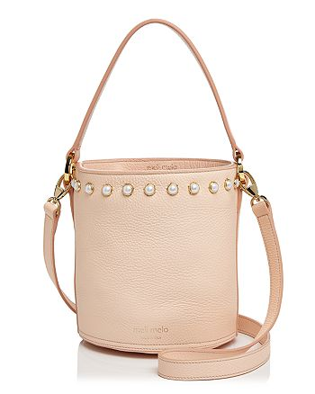 meli melo - Santina Faux-Pearl Leather Bucket Bag - 100% Exclusive