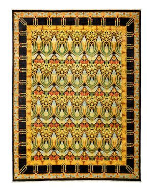 Solo Rugs Arts and Crafts Area Rug, 8'7 x 11'4
