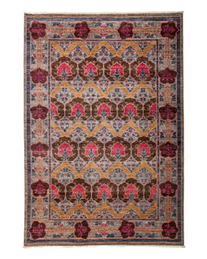 Solo Rugs Arts and Crafts Area Rug, 6'2 x 8'10