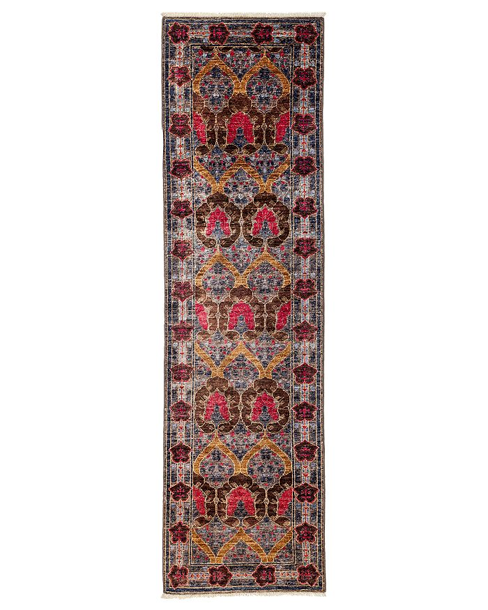 """Solo Rugs - Arts and Crafts Runner Rug, 2'9"""" x 9'8"""""""