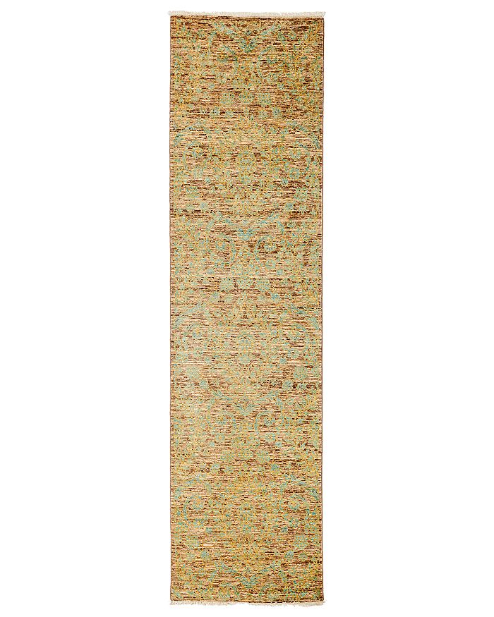 """Solo Rugs - Eclectic Runner Rug, 2'7"""" x 9'10"""""""