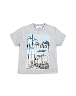 3 Pommes Boys' Palm Tree Graphic Tee - Baby