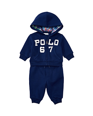 Ralph Lauren Childrenswear Boys' Fleece Hoodie and Sweatpants Set - Baby