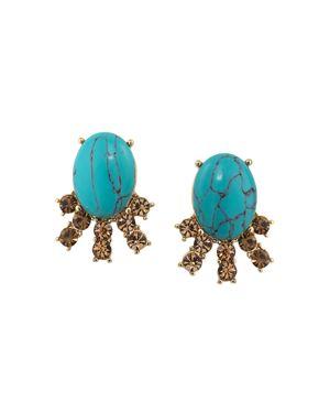 Carolee Stone Stud Earrings - 100% Exclusive