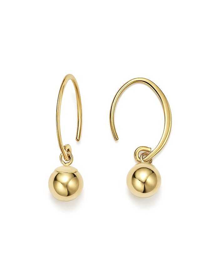 Bloomingdale's - 14K Yellow Gold Ball Drop Earrings - 100% Exclusive