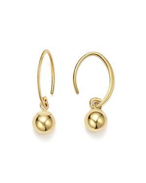 14K Yellow Gold Ball Drop Earrings - 100% Exclusive