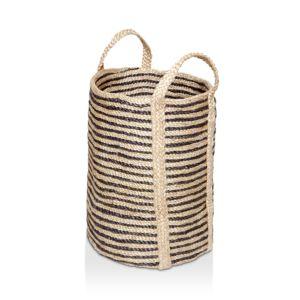 The Dharma Door Jute Laundry Basket