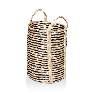The Dharma Door Jute Laundry Basket