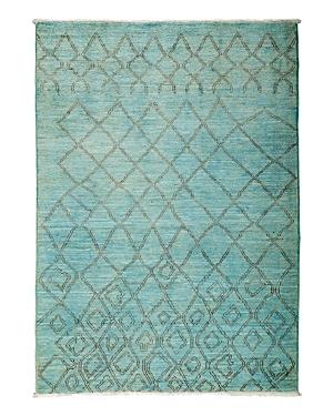 Solo Rugs Moroccan Area Rug, 5'4 x 7'5