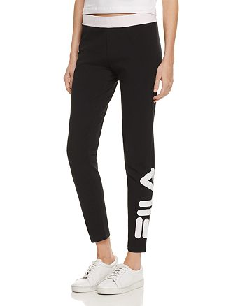 FILA - Imelda Cropped Logo Pants