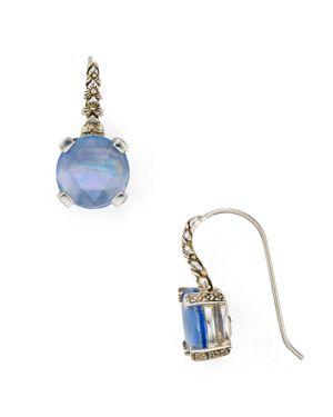 Stephen Dweck Blue Quartz Drop Earrings